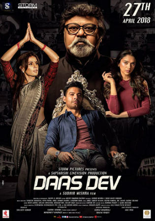 Daas Dev 2018 HDRip 350MB Full Hindi Movie Download 480p