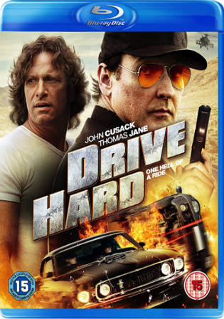 Drive Hard 2014 BRRip 300MB Hindi Dual Audio 480p
