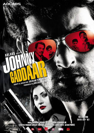 Johnny Gaddaar 2007 HDRip 350Mb Hindi 480p