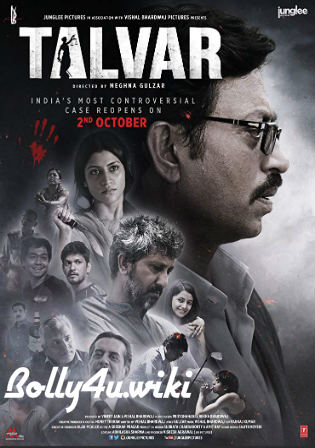 Talvar 2015 BluRay 350Mb Full Hindi Movie Download 480p