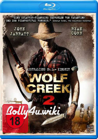 Wolf Creek 2 2013 BRRip 350MB Hindi Dual Audio 480p