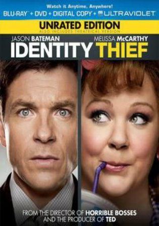 Identity Thief 2013 BRRip 350MB UNRATED Hindi Dual Audio 480p