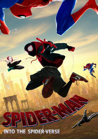 Spider-man Into The Spider-Verse 2018 HDRip 350MB Hindi Dual Audio 480p