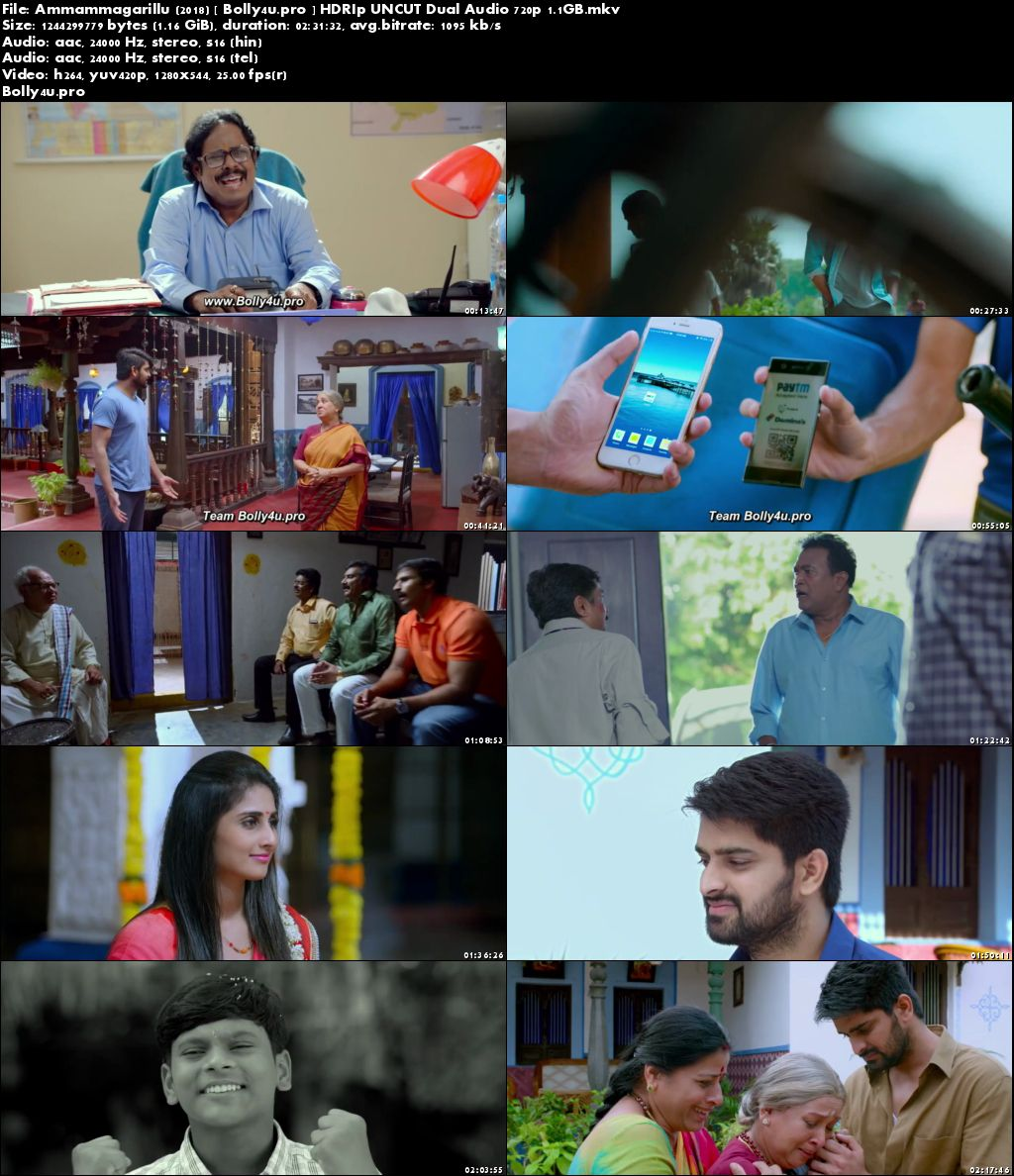 e581e4bab Ammammagarillu 2018 HDRip UNCUT Hindi Dual Audio 720p - Movies Wood
