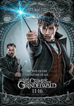 Fantastic Beasts The Crimes Of Grindelwald 2018 WEB-DL 400MB Hindi Dual Audio ORG 480p Watch Online Full Movie Download bolly4u