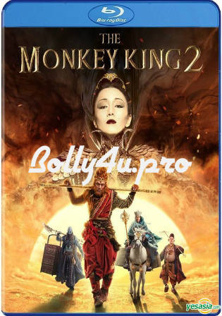 The Monkey King 2 2016 BRRip 900MB Hindi Dual Audio 720p Watch Online Full Movie Download bolly4u