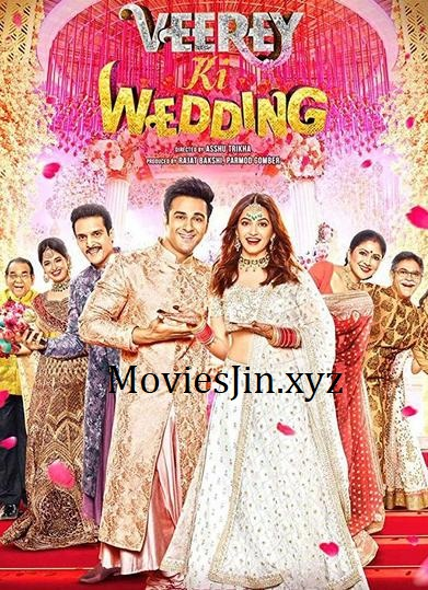 Veerey Ki Wedding 2018 300MB Movie HDTV Hindi 480p
