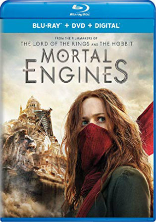 Mortal Engines 2018 BRRip 1.1GB English 720p ESub Watch Online Full Movie Download bolly4u