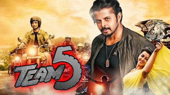 Team 5 2019 HDRip 200MB Hindi Dubbed 480p Watch Online Full Movie Download bolly4u