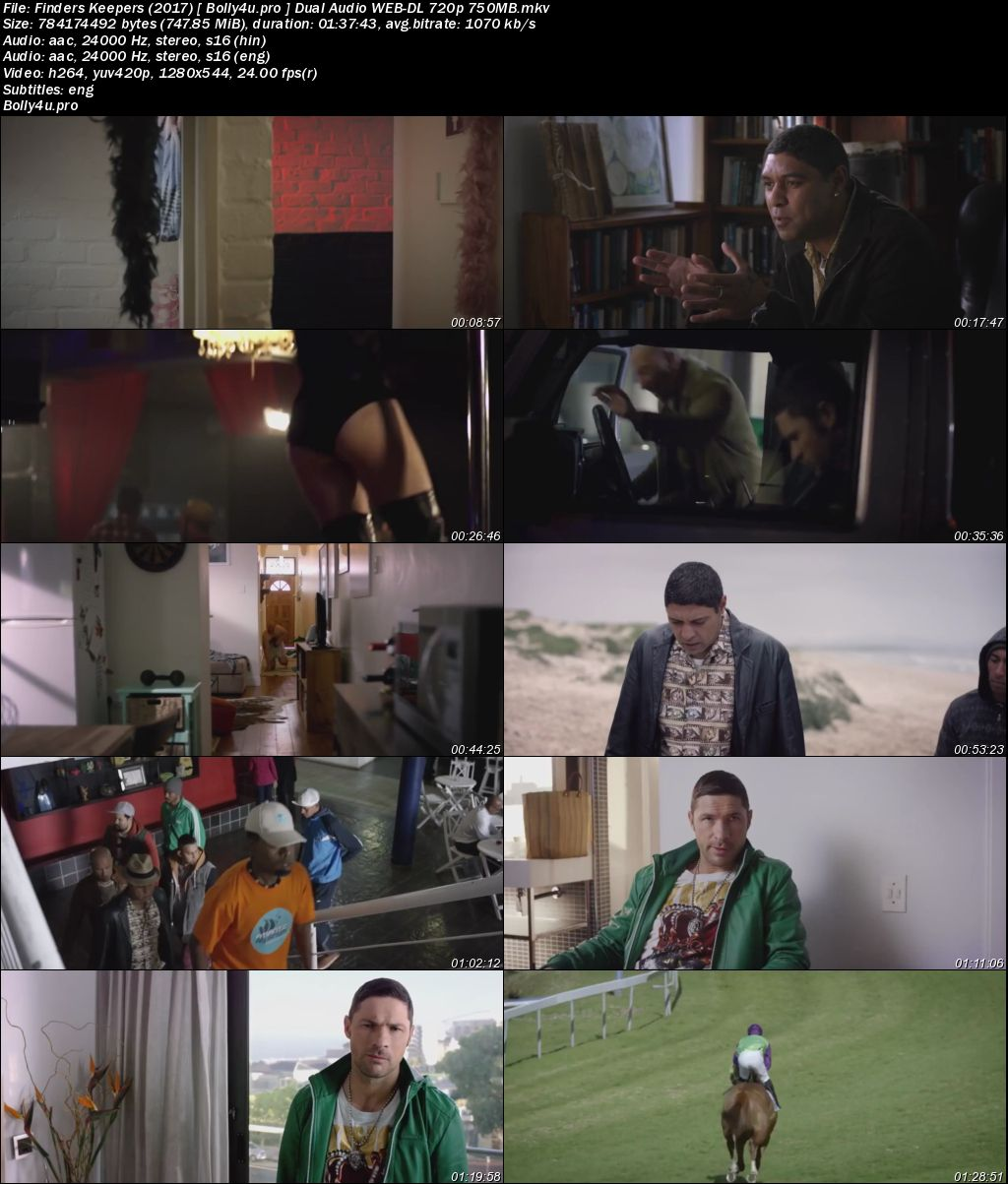Finders Keepers 2017 WEB-DL 300MB Hindi Dual Audio 480p Download