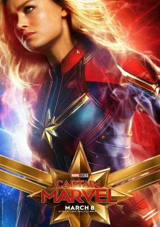 Captain Marvel 2019 HDCAM 350MB Hindi Dubbed 480p Watch Online Full Movie Download bolly4u