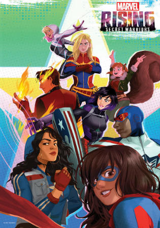 Marvel Rising Secret Warriors 2018 WEB-DL 250Mb Hindi Dual Audio 480p Watch Online Full Movie Download bolly4u