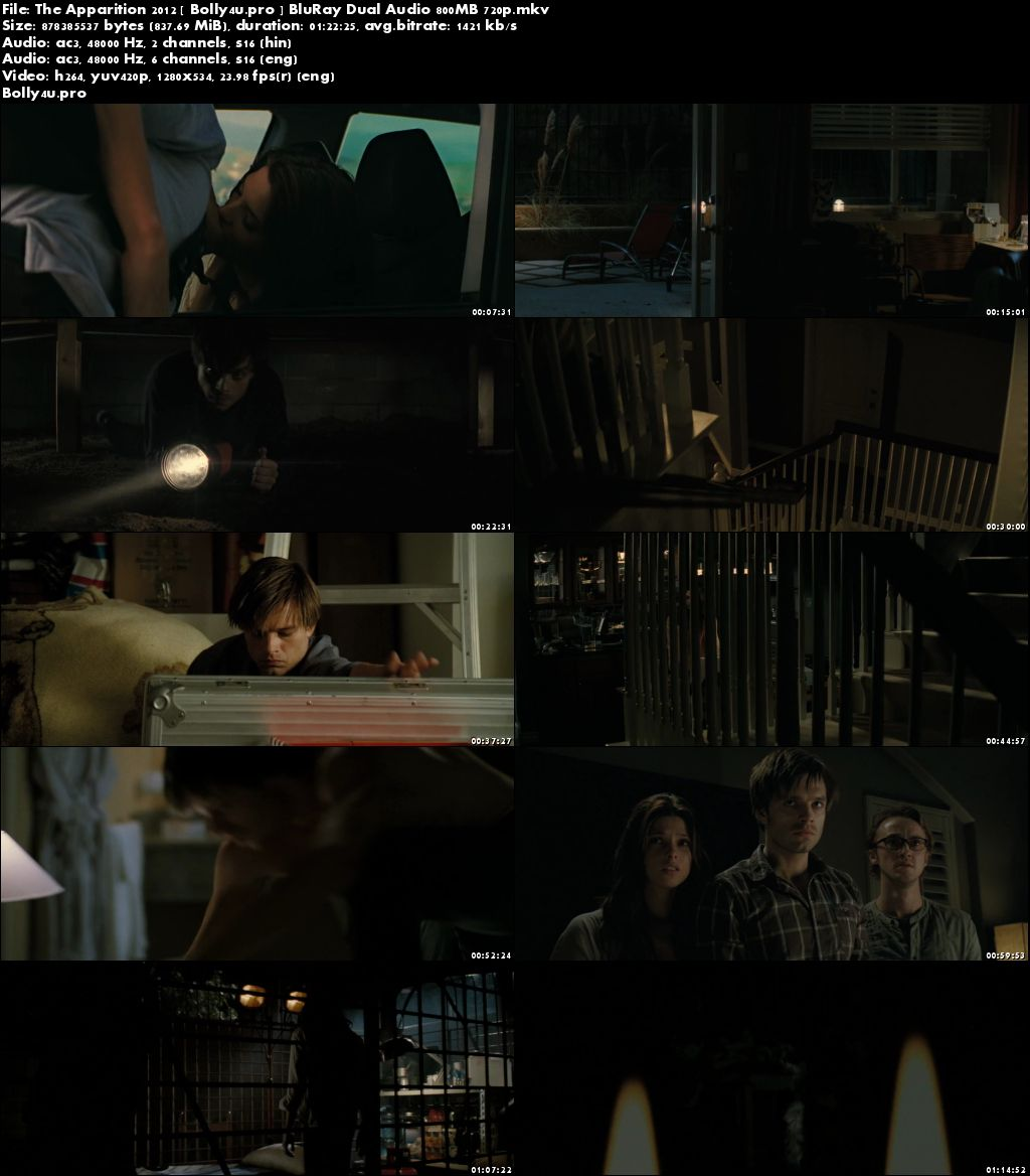 The Apparition 2012 BluRay 280Mb Hindi Dual Audio 480p Download
