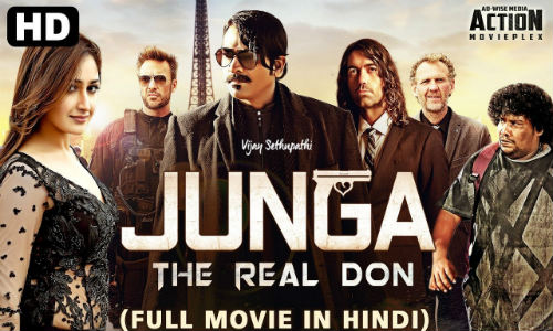 Junga The Real Don 2019 HDRip 350Mb Hindi Dubbed 480p Watch Online Full Movie Download bolly4u