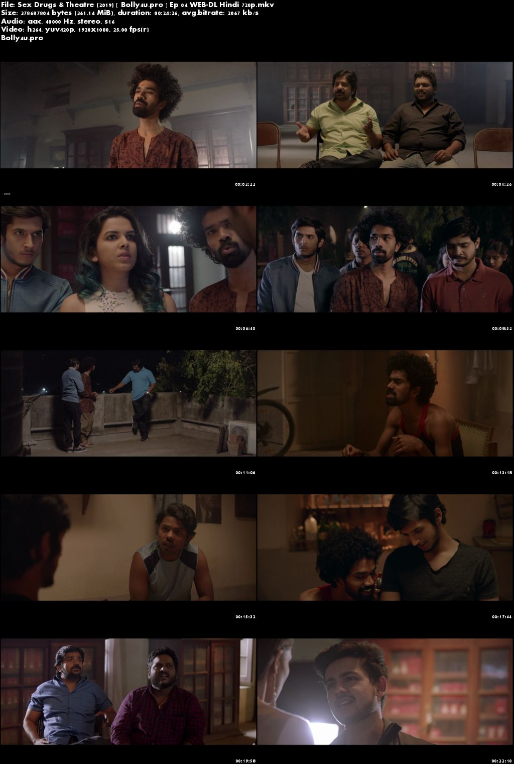 Sex Drugs and Theatre 2019 WEB-DL 4GB Hindi Complete Season Download 720p
