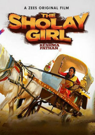 The Sholay Girl 2019 WEB-DL 250Mb Hindi 480p