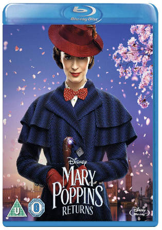 Mary Poppins Returns 2019 BRRip 350MB English 480p ESub Watch Online Full Movie Download bolly4u