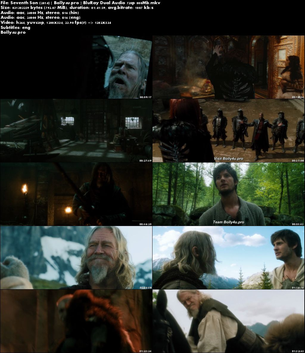 Seventh Son 2014 BluRay 350Mb Hindi Dual Audio 480p Download