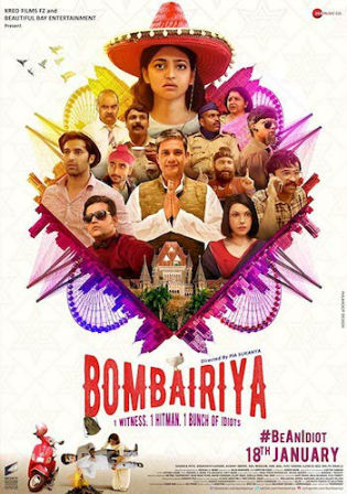 Bombairiya 2019 WEBRip 300MB Full Hindi Movie Download 480p ESub Watch Online Free bolly4u
