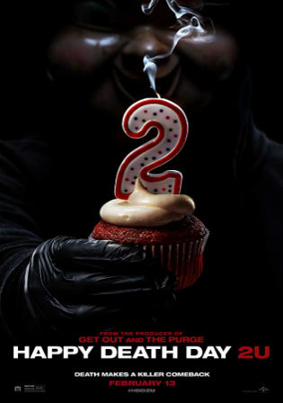 Happy Death Day 2U 2019 HC HDRip 850MB English 720p Watch Online Full Movie Download bolly4u