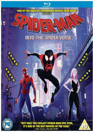 Spider-Man Into the Spider-Verse 2018-BRRip-720p/480p-Direct Links