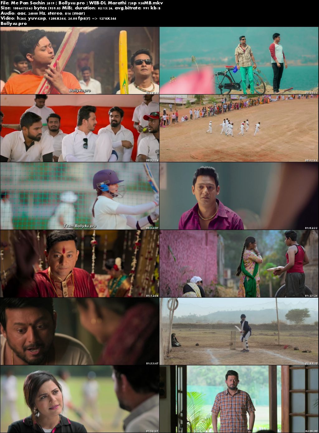 Me Pan Sachin 2019 WEB-DL 400MB Marathi 480p Download
