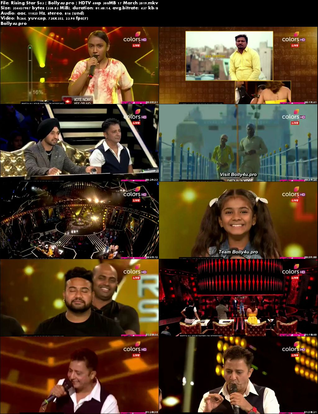 Rising Star Season 03 HDTV 480p 300MB 17 March 2019 Download