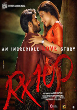 RX 100 2018 HDRip UNCUT Hindi Dual Audio 720p ESub