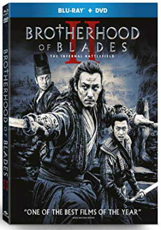 Brotherhood Of Blades II 2017 BluRay 950MB Hindi Dual Audio 720p