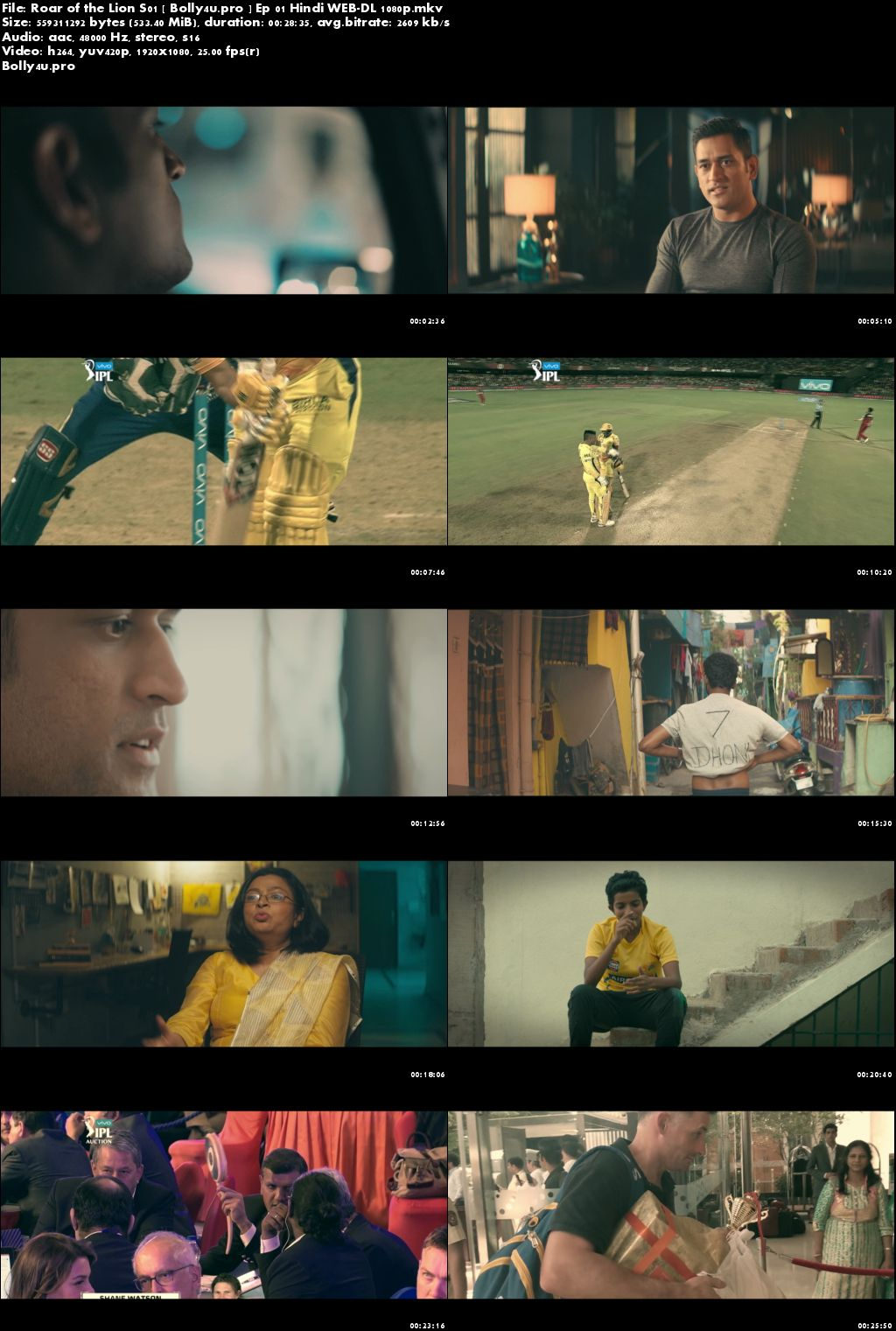 Roar of the Lion 2019 WEB-DL 2GB Complete S01 Hindi 1080p Download