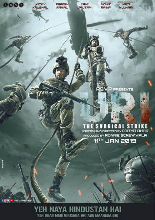 URI The Surgical Strike 2019 WEB-DL 950Mb Full Hindi Movie Download 720p Watch Online Free bolly4u