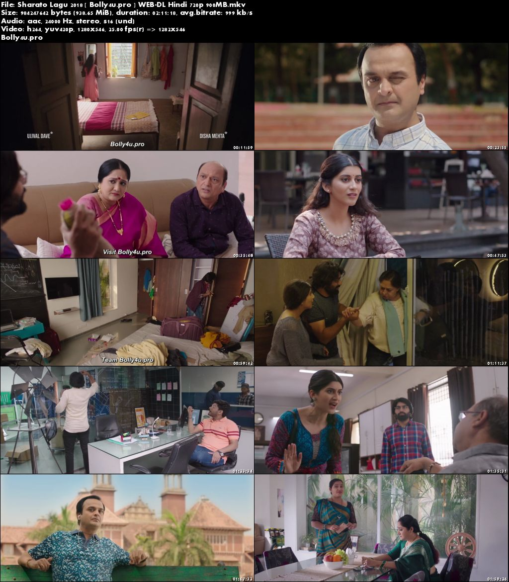 Sharato Lagu 2018 WEB-DL 350MB Gujarati 480p Download