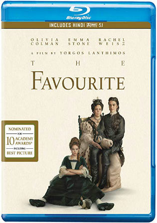 The Favourite 2018 BRRip 350Mb Hindi Dual Audio 480p ESub Watch Online Full Movie Download bolly4u