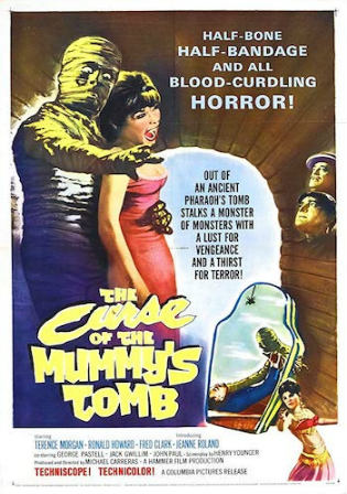 The Curse Of The Mummys Tomb 1964 BRRip 600Mb Hindi Dual Audio 720p