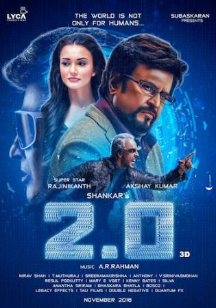 2.0 (2018) HDRip 400MB Full Hindi Movie Download 480p Watch Online Free bolly4u