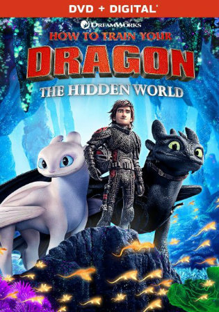 How to Train Your Dragon The Hidden World 2019 HDRip 900MB Hindi Dual Audio 720p Watch Online Full Movie Download bolly4u