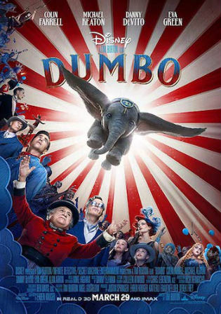 Dumbo 2019 HDCAM 350MB Hindi Dual Audio 480p Watch Online Full Movie Download bolly4u
