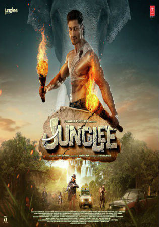 Junglee 2019 Pre DVDRip 300MB Full Hindi Movie Download 480p Watch Online Free bolly4u