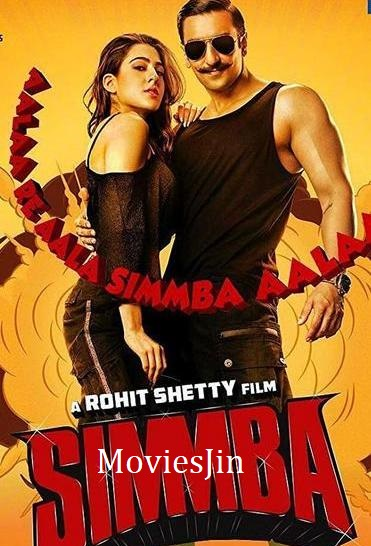 Simmba 2018 Full Movie Download HDRip 720p