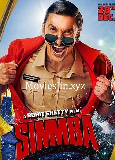 Simmba 2018 Full Movie Download 450MB HDRip 480p