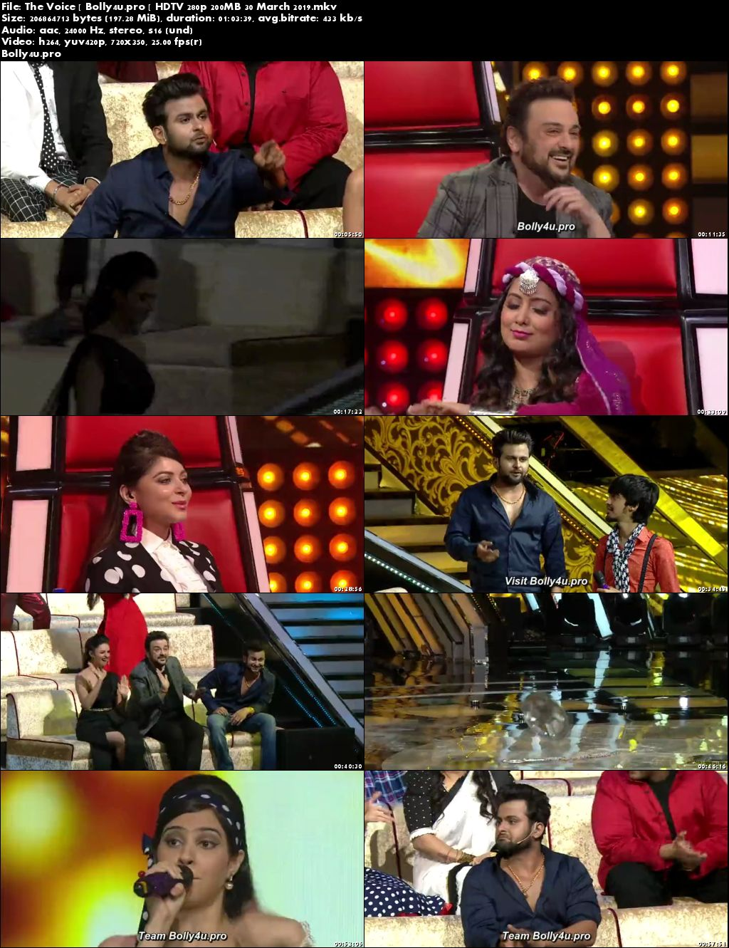 The Voice HDTV 280p 200MB 30 March 2019 Download