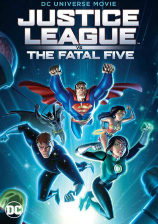 Justice League vs the Fatal Five 2019 HDRip 250MB English 480p ESub Watch Online Full Movie Download bolly4u