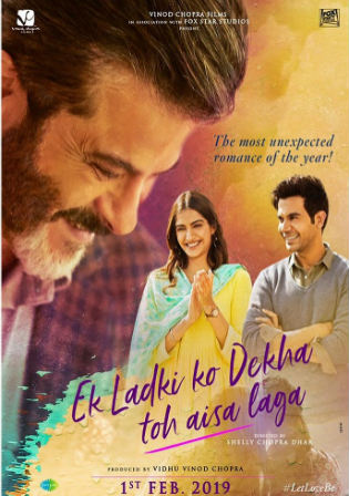 Ek Ladki Ko Dekha Toh Aisa Laga 2019 HDRip 850MB Hindi 720p Watch Online Full Movie Download bolly4u