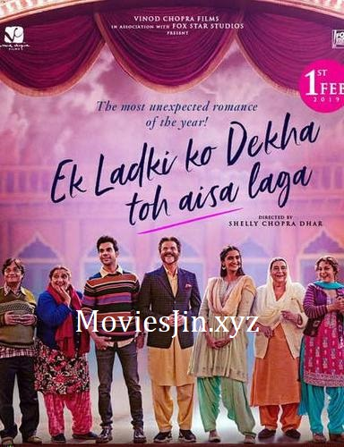 Ek Ladki Ko Dekha Toh Aisa Laga 2019 Movie WEBDL 80MB Hindi 720p