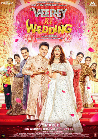 Veerey Ki Wedding 2018 HDRip 350MB Full Hindi Movie Download 480p Watch Online Free bolly4u