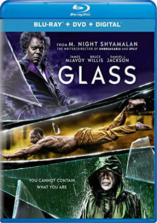 Glass 2019 BRRip 1.1GB English 720p ESub Watch Online Full Movie Download bolly4u