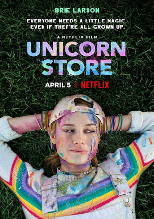 Unicorn Store 2019 WEB-DL 850MB English 720p ESub Watch Online Full Movie Download bolly4u