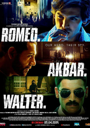 Romeo Akbar Walter 2019 CB HDRip 400Mb Full Hindi Movie Download 480p Watch Online Free bolly4u