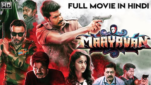 Maayavan 2019 HDRip 800Mb Hindi Dubbed 720p Watch Online Full Movie Download bolly4u