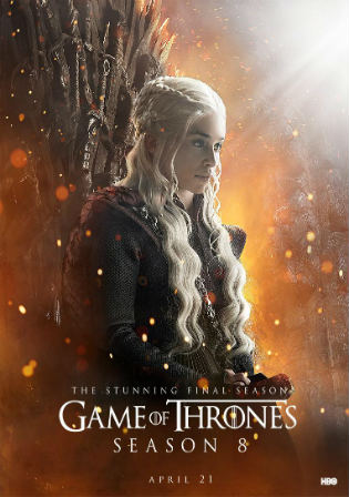 Game of Thrones S08E01 Kings Landing WEB-DL 400MB English 720p Hindi ESub Watch Online Free Download bolly4u